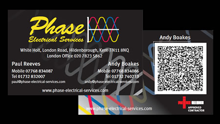Phase - Business cards