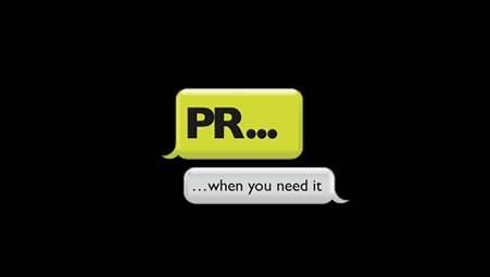 PR When You Need It - Logo and business cards
